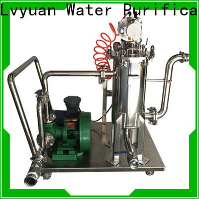 Lvyuan titanium stainless filter housing manufacturer for sea water desalination