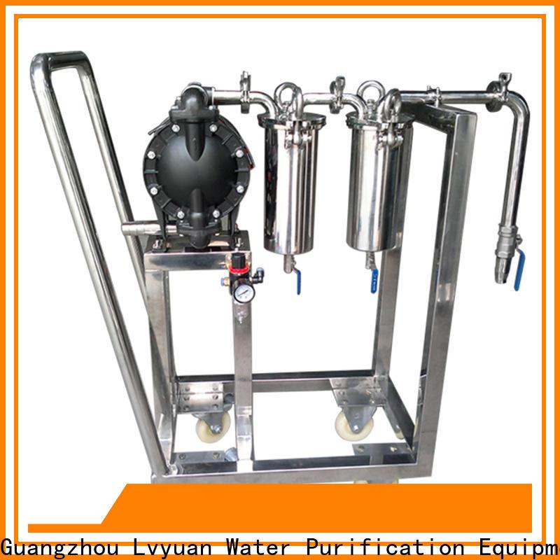 Lvyuan best ss bag filter housing rod for industry