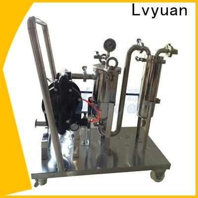 Lvyuan high end ss filter housing with core for food and beverage