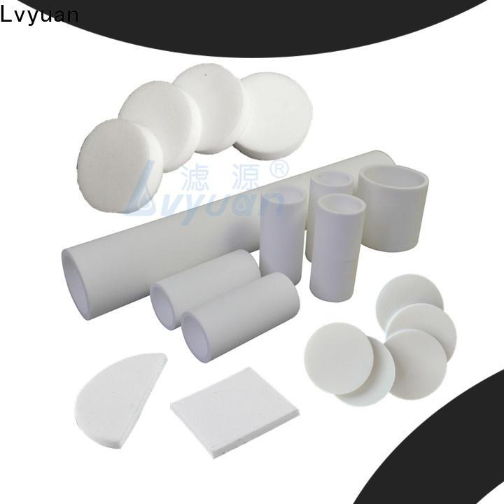Lvyuan sintered carbon water filter rod for food and beverage