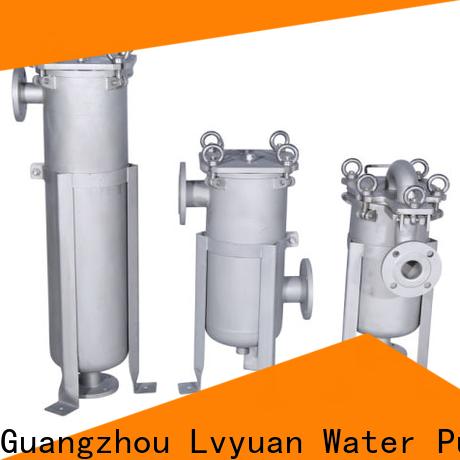 Lvyuan stainless steel bag filter housing manufacturer for oil fuel