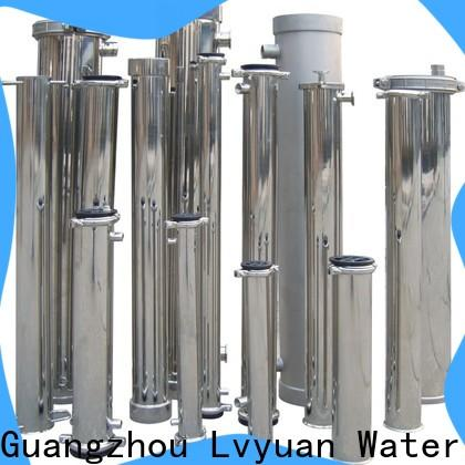 high end ss bag filter housing with core for sea water treatment