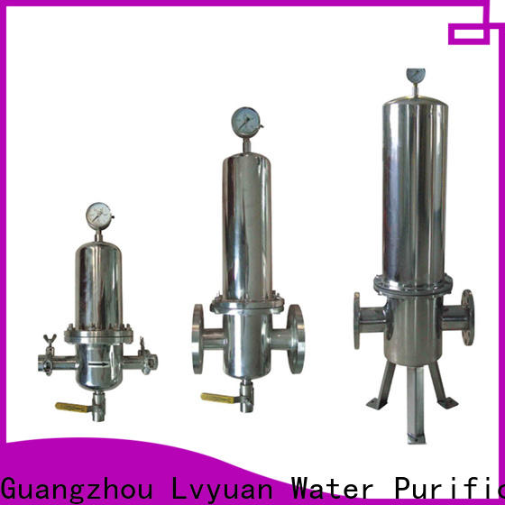 Lvyuan stainless steel filter housing rod for food and beverage