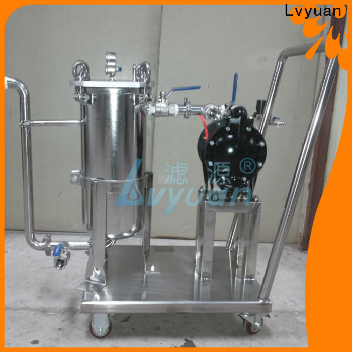Lvyuan professional stainless water filter housing rod for sea water desalination