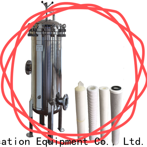 professional ss filter housing manufacturers with core for food and beverage