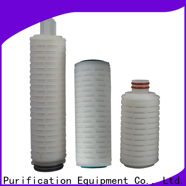 Lvyuan pleated filter manufacturers with stainless steel for liquids sterile filtration
