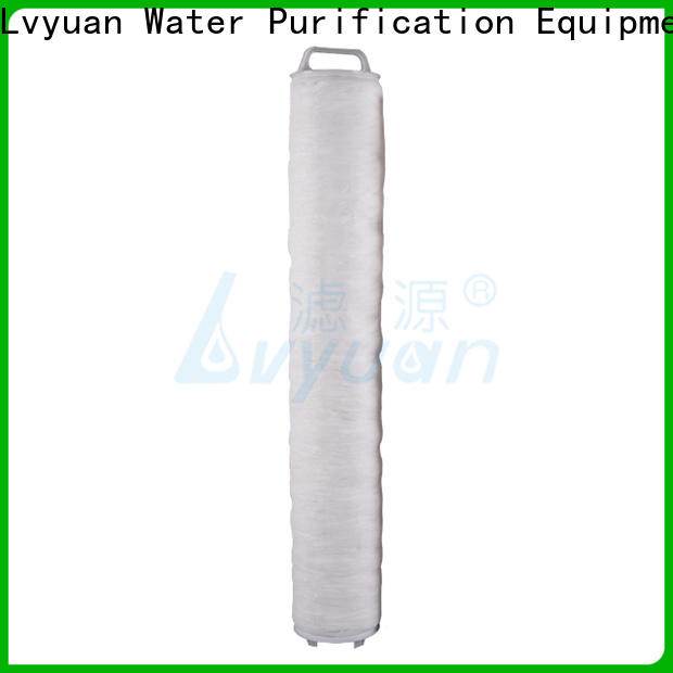 Lvyuan safe high flow filter cartridge replacement for industry