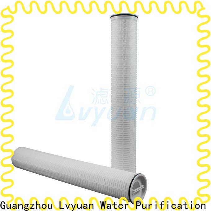 Lvyuan water high flow filter park for industry