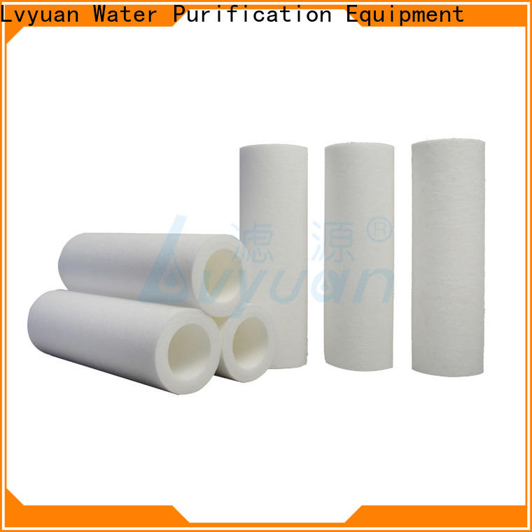 fast delivery pp melt blown filter cartridge supplier for sea water desalination