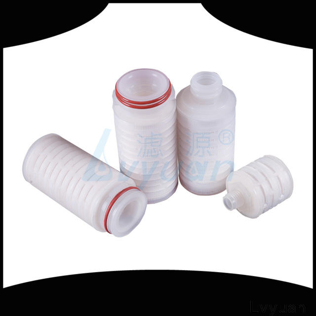 Lvyuan water pleated filter manufacturer for diagnostics