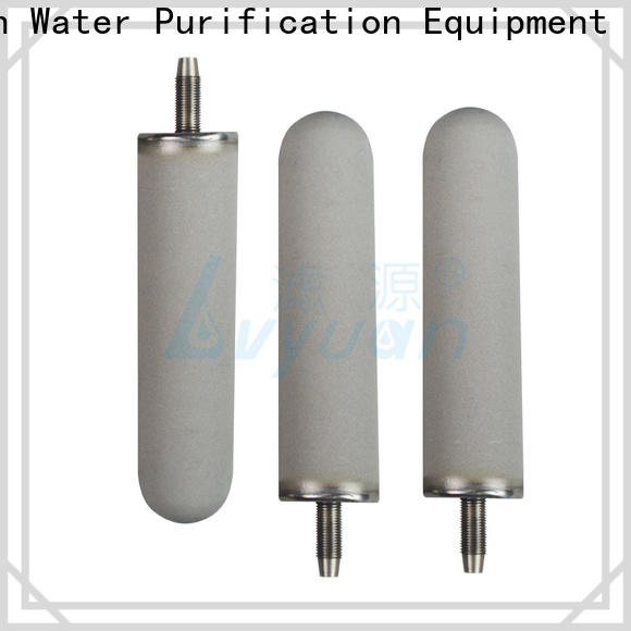 activated carbon sintered filter cartridge manufacturer for sea water desalination