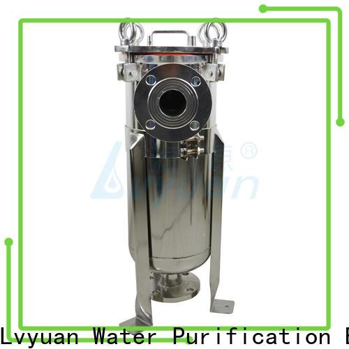 Lvyuan stainless steel cartridge filter housing housing for oil fuel