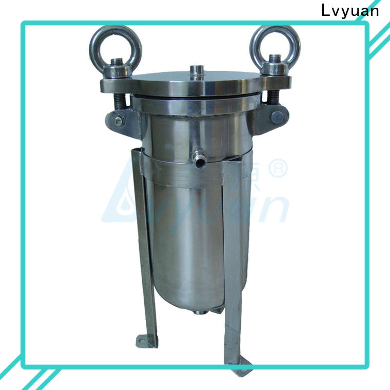 Lvyuan high end stainless steel water filter housing rod for oil fuel