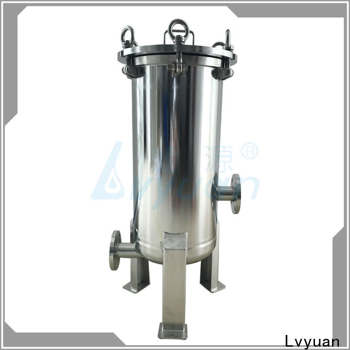 Lvyuan efficient stainless water filter housing rod for food and beverage