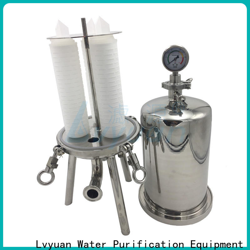 high end stainless filter housing rod for industry