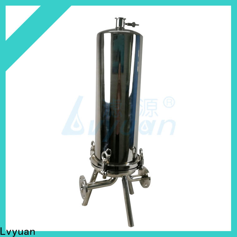 Lvyuan stainless steel water filter housing rod for industry