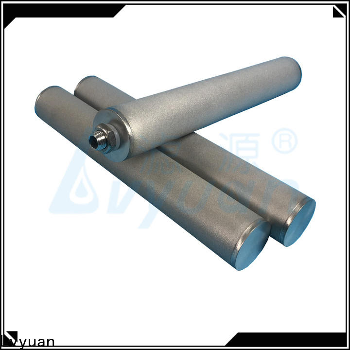 Lvyuan sintered metal filters suppliers supplier for food and beverage
