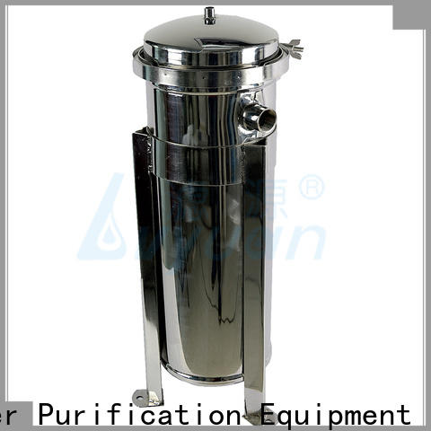 Lvyuan porous stainless steel bag filter housing with core for industry