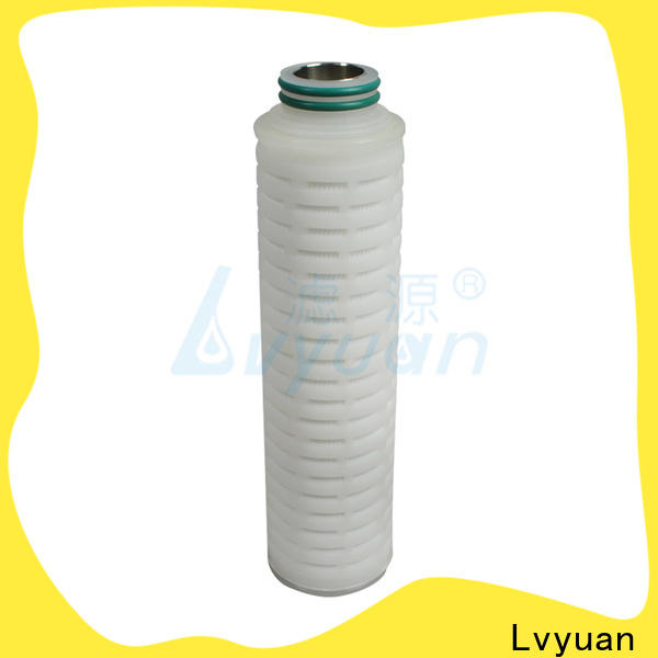 Lvyuan ptfe pleated filter replacement for food and beverage