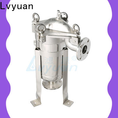 Lvyuan titanium stainless filter housing with core for sea water treatment