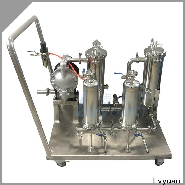 stainless steel water filter cartridge manufacturer for sea water desalination