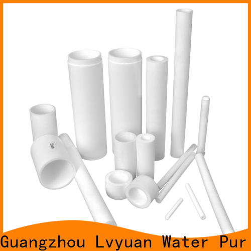 Lvyuan titanium sintered carbon water filter manufacturer for sea water desalination