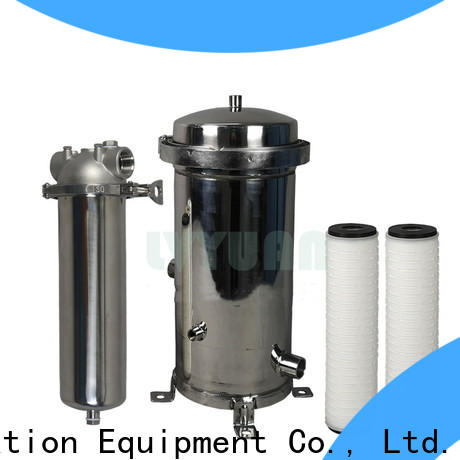 professional stainless water filter housing manufacturer for sea water treatment