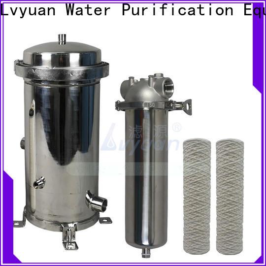 Lvyuan porous ss bag filter housing rod for oil fuel