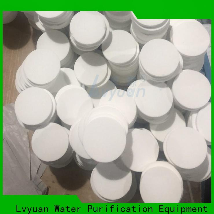 porous sintered ss filter supplier for food and beverage