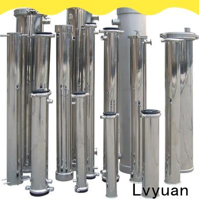 Lvyuan high end stainless steel bag filter housing rod for sea water desalination
