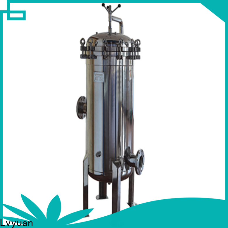Lvyuan ss cartridge filter housing rod for food and beverage
