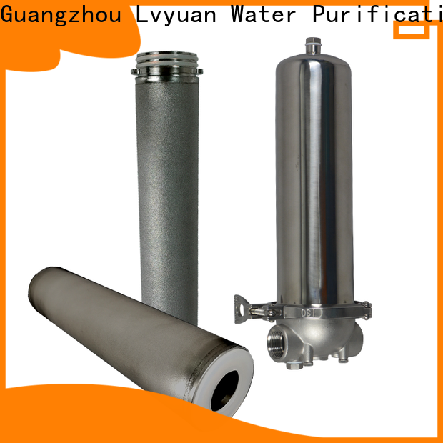 Lvyuan stainless steel filter housing manufacturers housing for sea water desalination