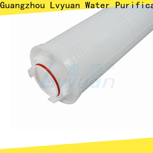 safe high flow water filter replacement cartridge manufacturer for industry