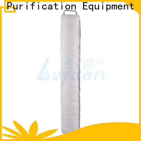 Lvyuan safe high flow filter cartridge park for sea water desalination