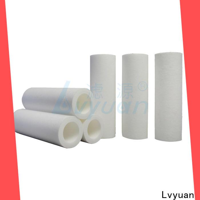 Lvyuan customized melt blown filter cartridge manufacturer for industry