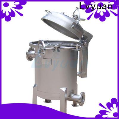 Lvyuan best ss bag filter housing housing for sea water treatment