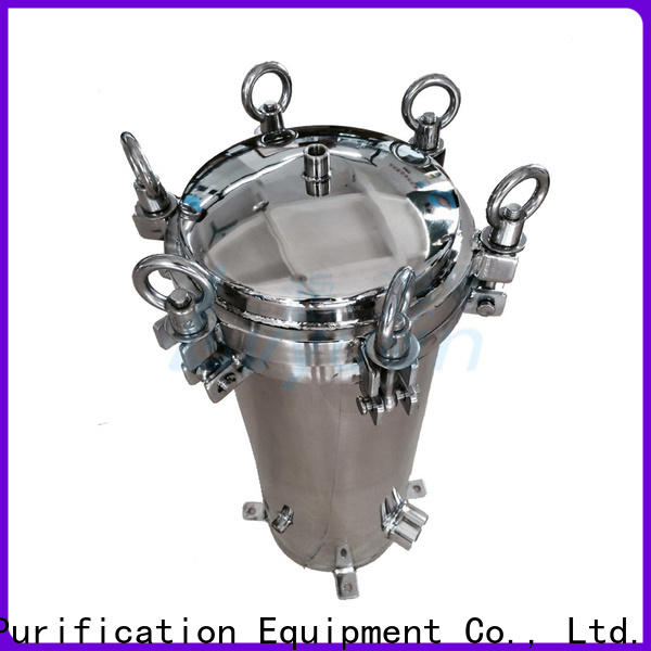 efficient ss bag filter housing rod for food and beverage
