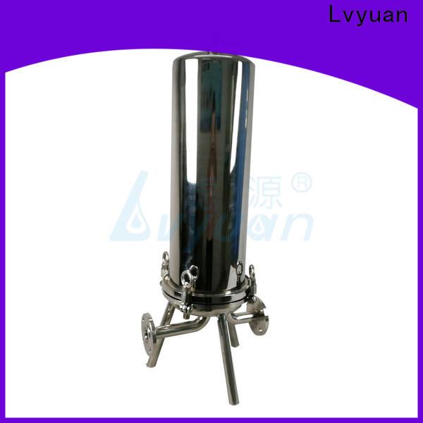Lvyuan ss cartridge filter housing manufacturer for sea water treatment