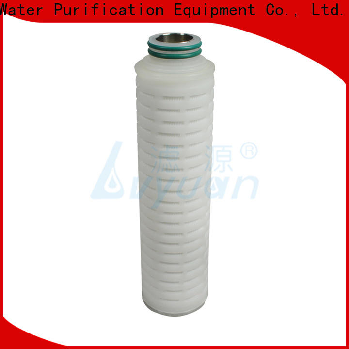 water pleated water filters manufacturer for industry