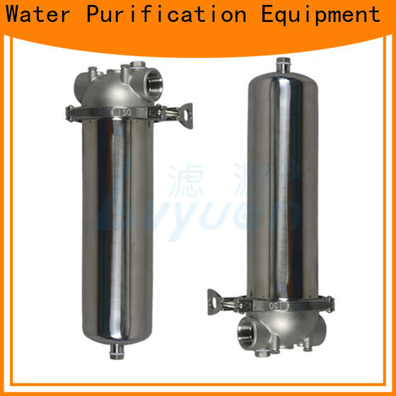 Lvyuan high end ss bag filter housing with fin end cap for oil fuel