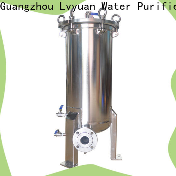 porous stainless filter housing manufacturer for food and beverage