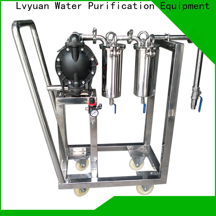 Lvyuan professional stainless water filter housing rod for food and beverage