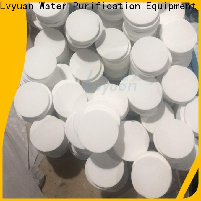 Lvyuan sintered metal filters suppliers supplier for sea water desalination