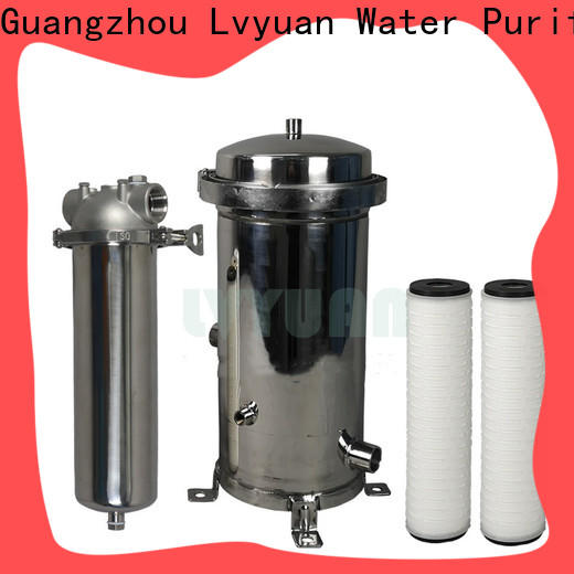professional stainless steel bag filter housing manufacturer for food and beverage