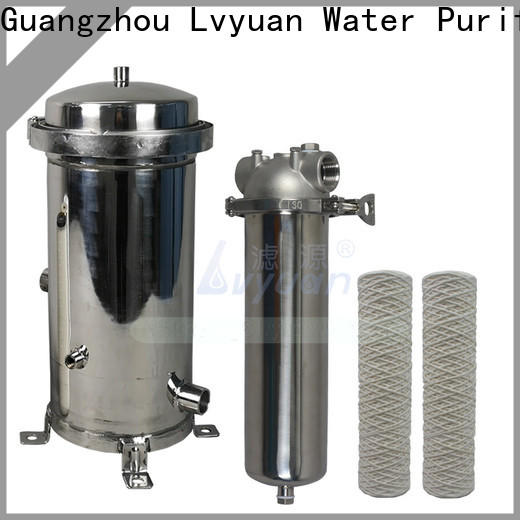 Lvyuan best ss filter housing with core for oil fuel