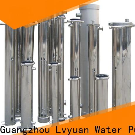 best stainless steel filter housing with fin end cap for sea water treatment