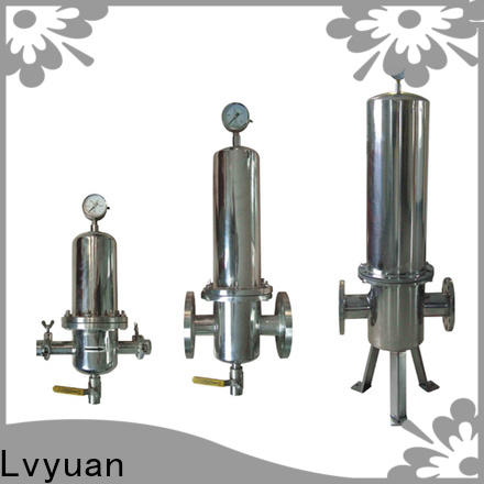 titanium stainless steel cartridge filter housing manufacturer for industry
