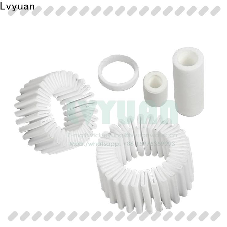 Lvyuan sintered plastic filter rod for food and beverage