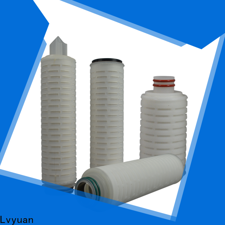 Lvyuan pleated water filter cartridge replacement for organic solvents