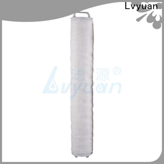 Lvyuan high flow water filter replacement cartridge supplier for sea water desalination